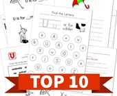 Top 10 Kindergarten Letter U Kids Activities