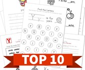 Top 10 Kindergarten Letter Y Kids Activities