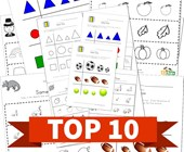 Top 10 Kindergarten Same Size Kids Activities
