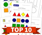 Top 10 Kindergarten Shape Themed Kids Activities