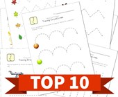Top 10 Kindergarten Tracing Lines Kids Activities