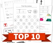 Top 10 Letter T Kids Activities