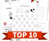 Top 10 Letter U Kids Activities