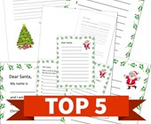 Top 5 Letters to Santa Themed Kids Activities