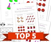 Top 5 New Year Numbers Kids Activities