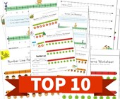 Top 10 Number Lines Kids Activities