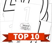 Top 10 Numbers Themed Printable Activities