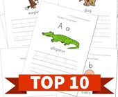 Top 10 Preschool Alphabet Tracing Pages Kids Activities