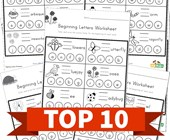 Top 10 Preschool Beginning Letters Kids Activities