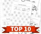 Top 10 Preschool By Letter Kids Activities