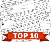 Top 10 Preschool Color the Patterns Kids Activities