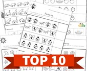Top 10 Preschool Cut and Paste Patterns Kids Activities
