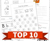 Top 10 Preschool Letter B Kids Activities