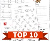 Top 10 Preschool Letter D Kids Activities