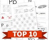 Top 10 Preschool Letter P Kids Activities