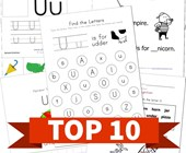 Top 10 Preschool Letter U Kids Activities