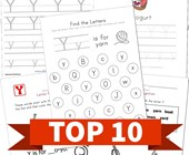 Top 10 Preschool Letter Y Kids Activities