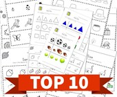 Top 10 Preschool Same Size Kids Activities