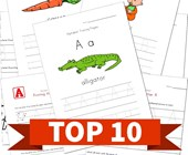 Top 10 Preschool Traceable Alphabet Kids Activities