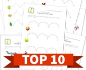 Top 10 Preschool Tracing Lines Kids Activities
