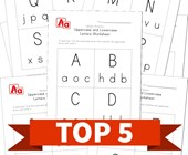 Top 5 Preschool Uppercase and Lowercase Letter Recognition Kids Activities