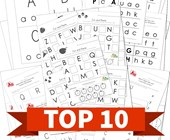 Top 10 Preschool Uppercase and Lowercase Letters Kids Activities