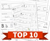 Top 10 Printing Letters Kids Activities