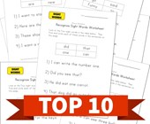 Top 10 Recognizing Sight Words Kids Activities