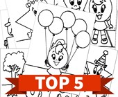 Top 5 Shapes Themed Kids Activities