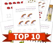 Top 10 Spring Numbers Kids Activities