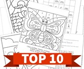 Top 10 Spring Printable Activities