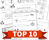 Top 10 Spring Reading Kids Activities