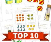 Top 10 Summer Numbers Kids Activities