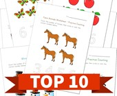 Top 10 Themed Counting Kids Activities