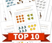 Top 10 Themed Counting Practice Kids Activities