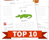 Top 10 Traceable Alphabet Kids Activities