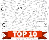 Top 10 Tracing Letters Kids Activities