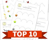 Top 10 Tracing Lines Kids Activities