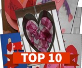 Top 10 Valentine's Day Crafts