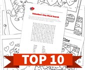Top 10 Valentine's Day Printable Activities