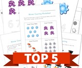 Top 5 Winter Numbers Kids Activities