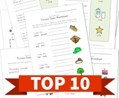 Top 10 Word and Picture Clues Kids Activities