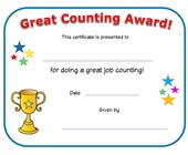 good counting award