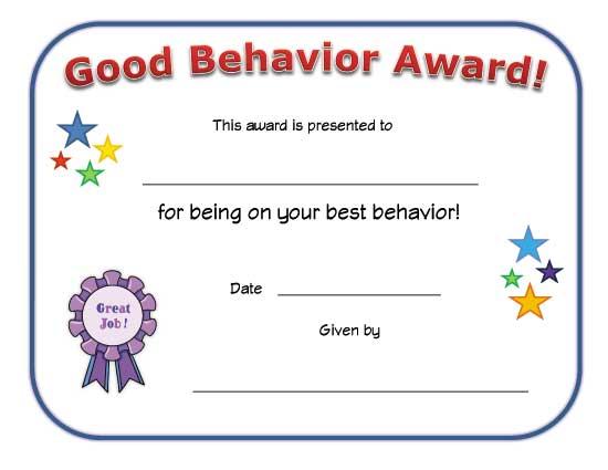 A Clean Class Room Award