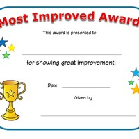 most improved award