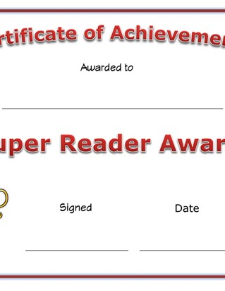 super reader award
