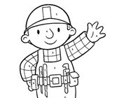 Color by Numbers: Bob the Builder