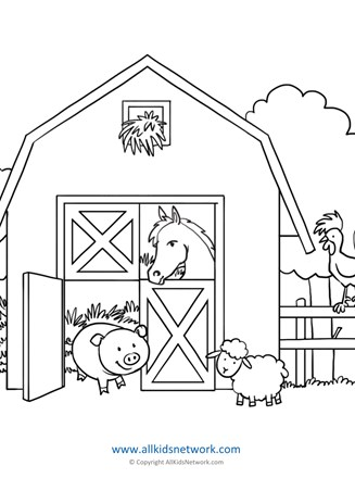 4400 House Animals Coloring Pages Download Free Images