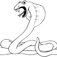 snake coloring page coloring page