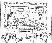 arthur coloring page coloring page